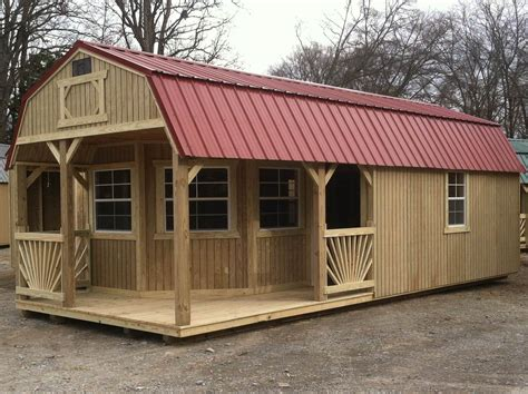 Shed Homes by Hickory Sheds West Cabins Cabins N Small Homes