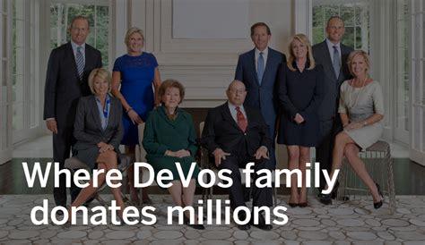 betsy devos rich devos where rich devos and his family donate millions mlive