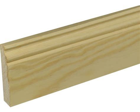 Holz Lackieren Hornbach by Sockelleiste Konsta Kiefer Lackiert 18x96x2400 Mm Bei