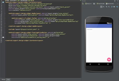 Pattern Android Studio | new activity fragment pattern for android studio 1 4
