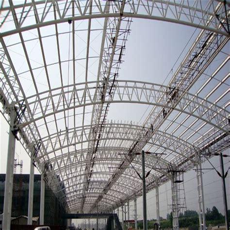Bubuk Khusus Powder Coating panjang rentang cahaya baja yang arch truss dan