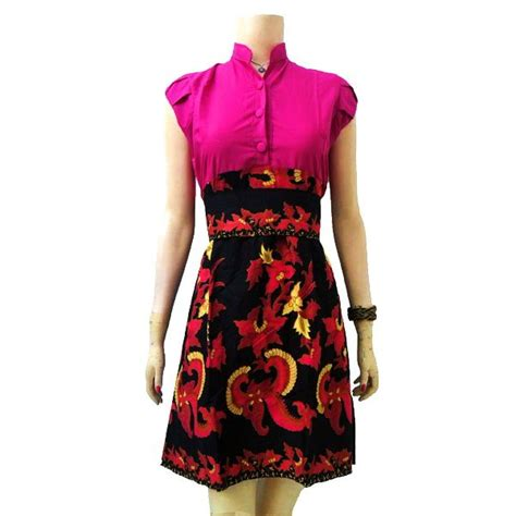 Javane Baju Dress Maxy Wanita baju batik wanita modern modern batik sekar modern batik dress and dresses