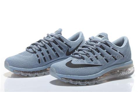Sepatu Nike Running Airmax 2016 mens nike air max 2016 running shoes grey black price