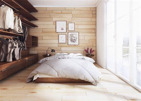 Tempat Tidur Kecil Minimalis desain kamar tidur minimalis kecil dekorasi dinding kayu