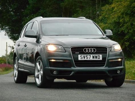 audi 4x4 for sale used audi q7 2007 diesel 3 0 tdi quattro s 4x4 grey with