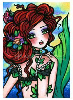 enchanted faces mermaids fairies 0692637702 enchanted faces hannah lynn hannah lynn