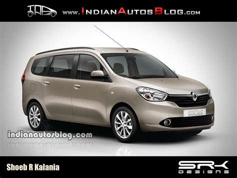 lodgy renault render renault lodgy to reach india in early 2015