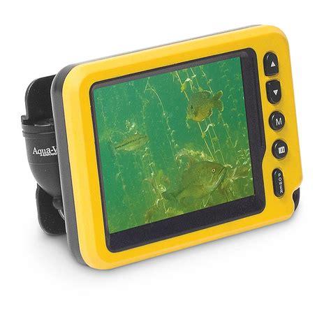 Vu Finder Aqua Vu Av Micro Ii Underwater System Sonar Fish Finder 580126 Fish Finders