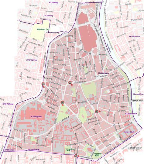 Plan 2 by W 252 Rfeluhren Im 9 Bezirk