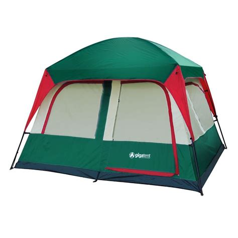 cabin tents gigatent prospect rock 5 person cabin tent ft049 the