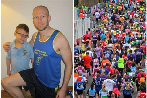Stewart Has Liver Disease by He S Never Run A Marathon Before But This Caring Is