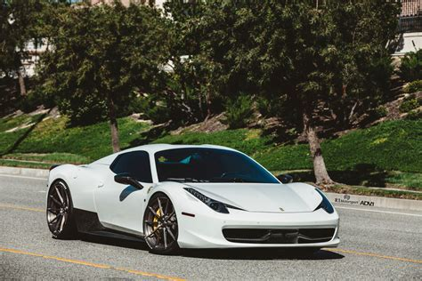 wheels ferrari white ferrari 458 spyder adv10 m v2 cs adv 1 wheels