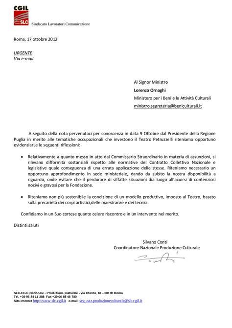 esempi di lettere formali in italiano lettera formale francese chiusura adfo