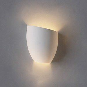 Indoor Wall Light Fixtures 8 Inch Asymmetrical Tumbler Ceramic Bowl Wall Sconce