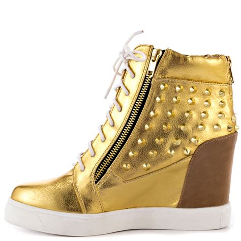womens gold sneakers shoe republic magena gold shoes for aasneakers