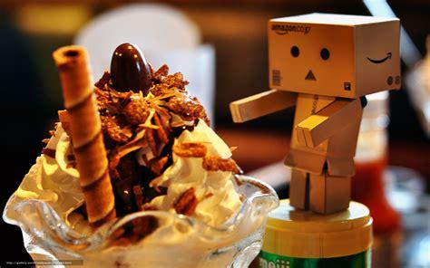 Download wallpaper box, dessert, sweet, food free desktop