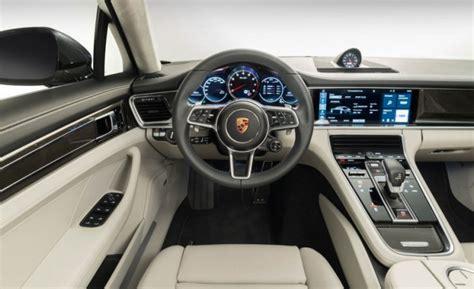 porsche panamera interior 2017 2017 porsche panamera release date specs and interior