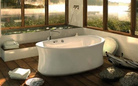 relaxing bathtub how to choose a relaxing bathtub for your home freshome com