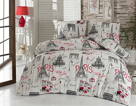 black and white paris bedding bedding set paris black and white with duvet cover 100 cotton eiffel tower lettering