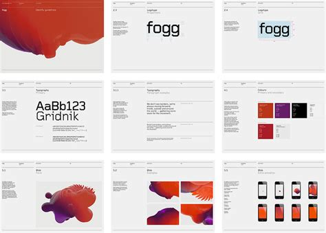 Homepage Design Guidelines Brand Guidelines Http Www Bunchdesign Projects Fogg