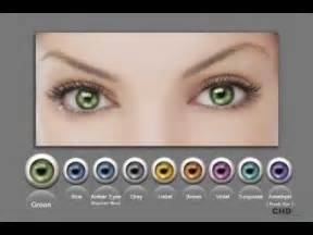 what is the least common eye color human eye color