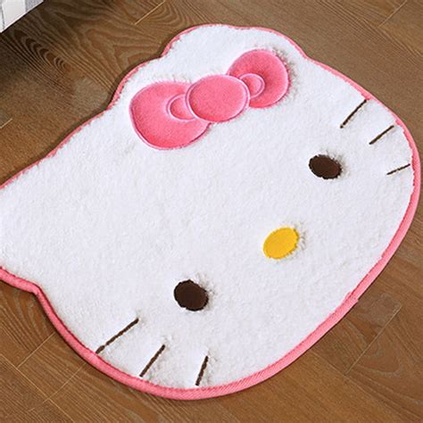 hello kitty rugs for bedrooms ᗜ Lj size 55cm 45cm hello kitty ᗔ bedroom bedroom carpet