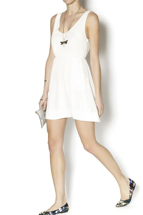 Nicely Dress X S M L coveted clothing elana dress from california by b