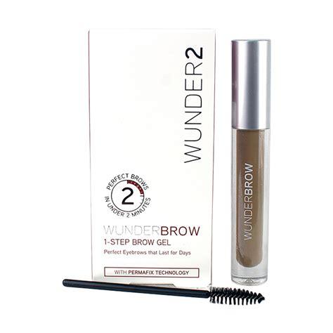 Wunderbrow 1 Step Brow Gel Ready Stock wunder2 wunderbrow 1 step brow gel cosmetics now us