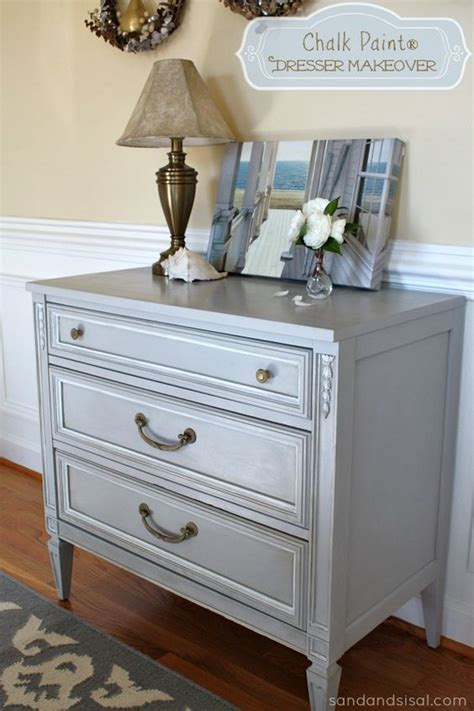 chalk paint grey chalk paint dresser dresser makeovers and grey on