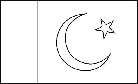 Pakistan Flag Coloring Page 17 best images about countries coloring on