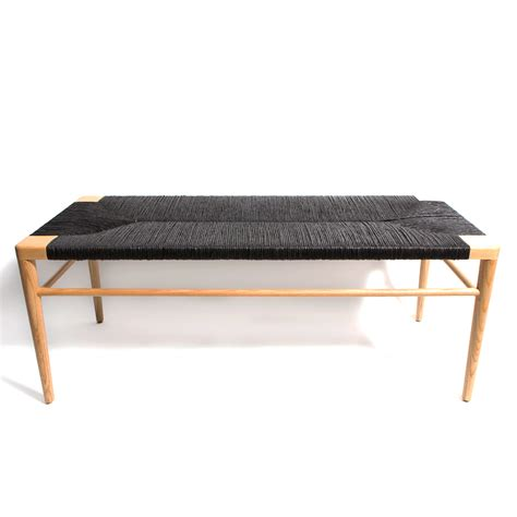 woven benches woven rush bench mel smilow smilow furniture suite ny