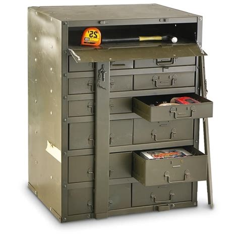 Stunning Used Us Metal Storage Cabinet 163691