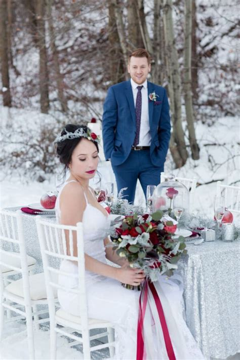 490 best Winter Weddings images on Pinterest   Wedding