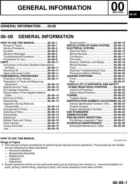 how to download repair manuals 2000 mazda protege head up display 2000 2004 mazda protege service manual download manuals tec