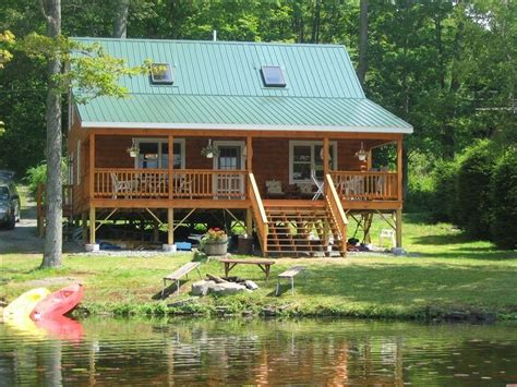 Lake Cabin Rentals Pa by Lakefront Cabin In Northeast P A Vrbo
