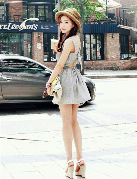 Sandal Kpop Big dress wedges hat korean fashion