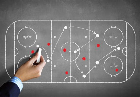 surface hand chalk board coach hockey playground hockey