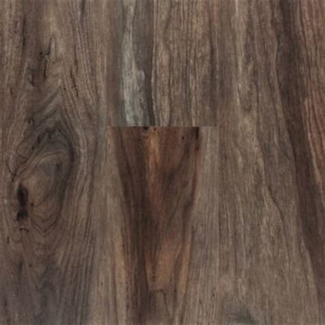 nucore flooring nucore smoked walnut wide scraped plank with cork