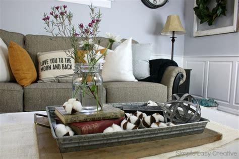farmhouse coffee table decor modern farmhouse living room makeover hoosier