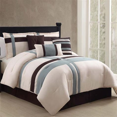 berkley is a 7 piece comforter set comes in two sizes