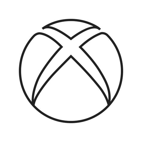 Drawing Xbox Logo by Computer Media Microsoft Play Xbox Icon