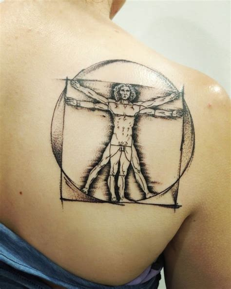 vitruvian man tattoo the 25 best vitruvian ideas on