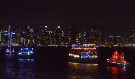 san diego bay parade of lights missed the boats see parade of lights in 2 minutes