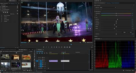 adobe premiere pro white balance how to adjust exposure video image correction in adobe
