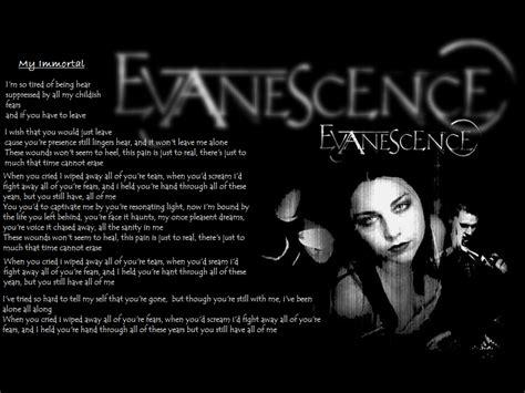 my lyrics evanescence my immortal lyrics www imgkid the