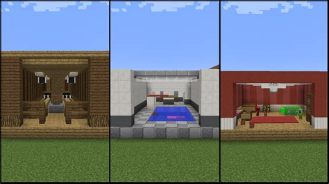 Cool Basement Ideas 10 minecraft recreation room designs youtube