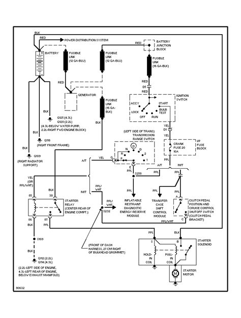 96 cavalier horn wiring diagram wiring and parts diagram