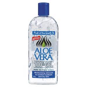 buy aloe vera 100 gel 340 g by fruit of the earth