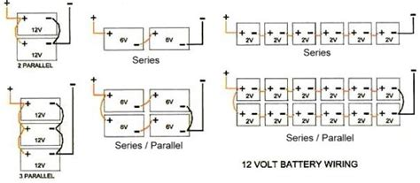 wiring 6 volt batteries together thread two