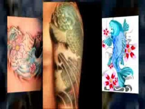 koi fish tattoo youtube koi fish tattoo designs youtube